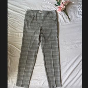 Striped Ankle Pants(new w/out tags)